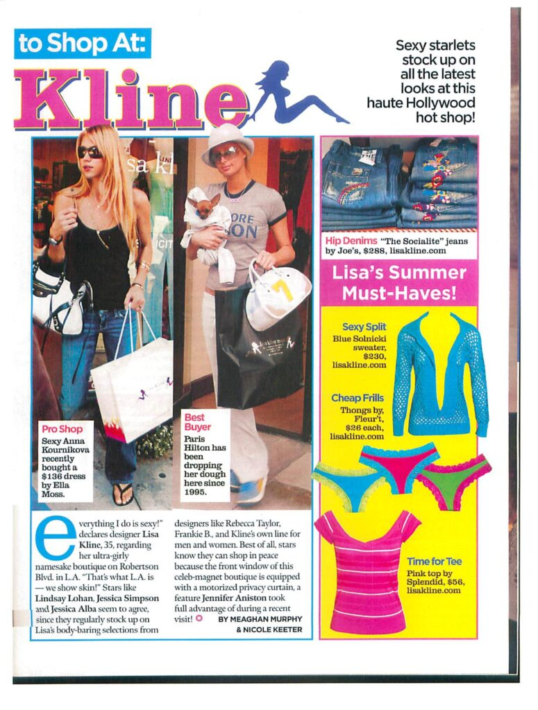 Beach Window Display Featured in Celebrity Living Magazine-page-003